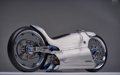 Crazy design of the fuller moto