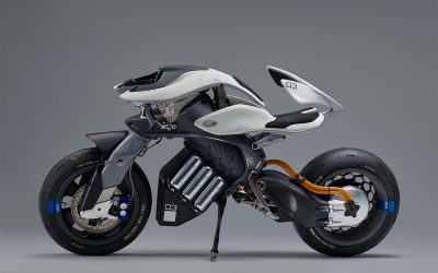 Yamaha motoroid the smart motorcycle!